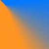 Pomarańczowo-Niebieski